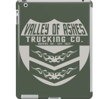 Valley of Ashes Trucking iPad Case/Skin