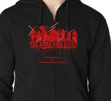 The Dark Side Eight Zipped Hoodie