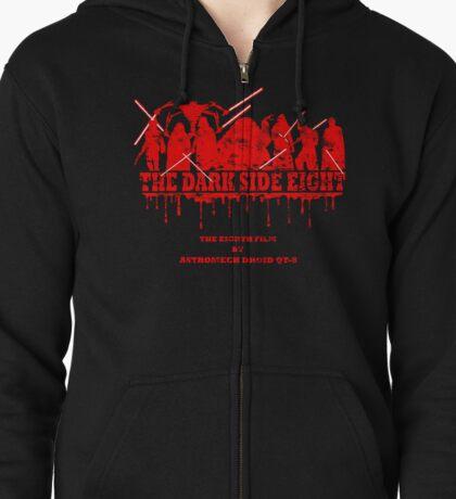 The Dark Side Eight Zipped Hoodie