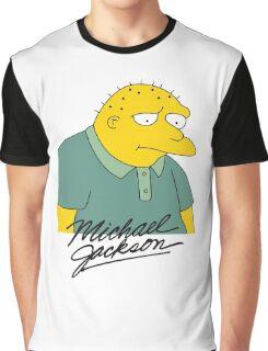 Leon Kompowsky – Simpsons, Stark Raving Dad Graphic T-Shirt