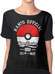 Kanto official - Gym leader Chiffon Top