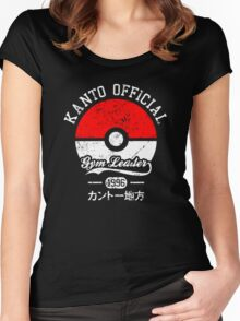 Kanto official - Gym leader Women's Fitted Scoop T-Shirt