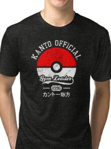 Kanto official - Gym leader Tri-blend T-Shirt