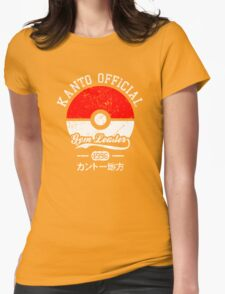Kanto official - Gym leader Womens Fitted T-Shirt