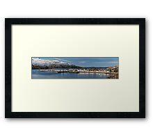 Ullapool Panorama Framed Print