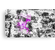 Man in Pink Hat Canvas Print