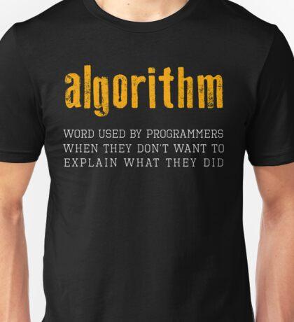 Programmer - Algorithm Unisex T-Shirt