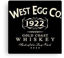 West Egg Whiskey Canvas Print