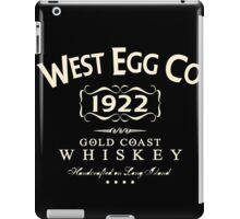 West Egg Whiskey iPad Case/Skin