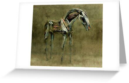 Wooden Horse by SuddenJim