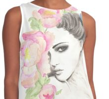 Fashion Illustration Contrast Tank