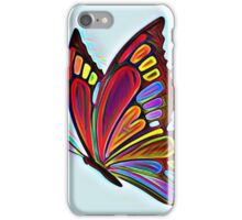 Colorful Abstract Butterfly Art iPhone Case/Skin