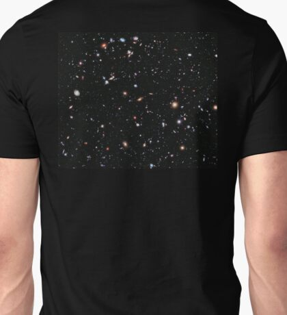 Hubble, Nasa, Extreme Deep Field image, Deep, Space, Cosmos, Cosmic, Constellation, Fornax Unisex T-Shirt