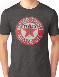 Vintage Texaco Motor Spirit Logo  Unisex T-Shirt