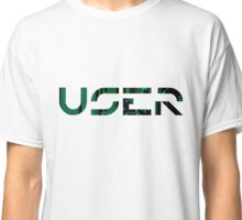 User (Tron inspired) Classic T-Shirt