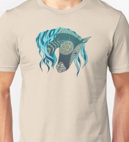 Mystical Spirit Horse Shamanic Painted Pony Native Dream Equine Unisex T-Shirt