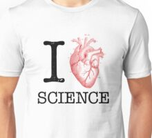 I Love Heart Science - Biology Unisex T-Shirt