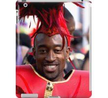 Carnival Celebrations in Red iPad Case/Skin