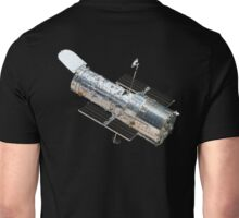 Astronomy, Hubble, Space, Telescope, in Orbit, Cosmos, Cosmic, Universe Unisex T-Shirt
