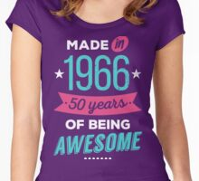 Made in 1966 Women's Fitted Scoop T-Shirt