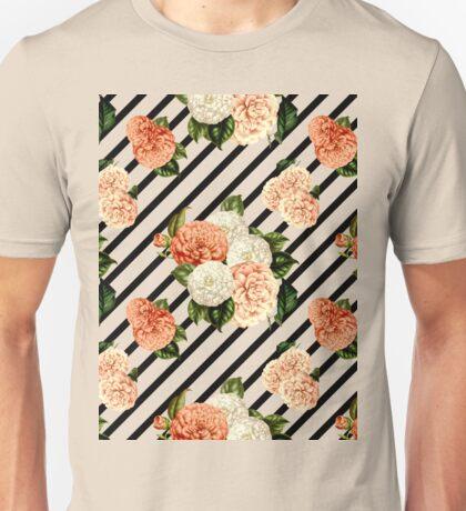 Chrysanthemum Rain Unisex T-Shirt