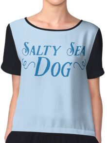 Salty sea dog Chiffon Top