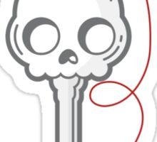 Skeleton Key Sticker