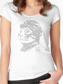 Chairman meow Women's Fitted Scoop T-Shirt