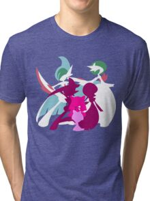 Ralts Kirlia Gardevoir Gallade Evolution Tri-blend T-Shirt