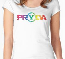 Pryda colors Women's Fitted Scoop T-Shirt