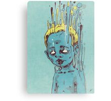 The Blue Boy with the Golden Hair Metal Print