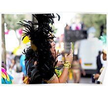 Carnival Make-Up Check Poster