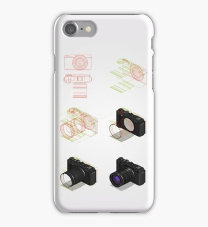 isometric drawing tutorial iPhone Case/Skin