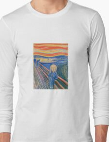 Edvard Munch - The Scream 1895 Long Sleeve T-Shirt