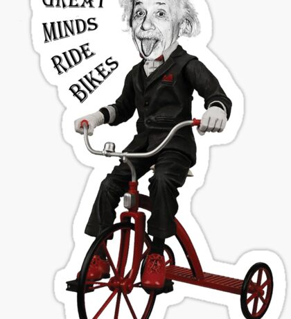 Great Minds Sticker