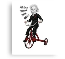 Great Minds Canvas Print