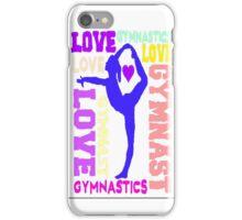 I Love GYMNASTICS iPhone Case/Skin