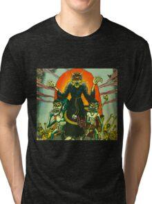 Graveyard Ghouls Tri-blend T-Shirt