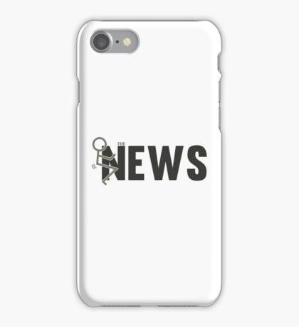 Fuck The News Funny Protest Against Mainstream Media   iPhone Case/Skin