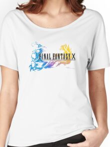 -FINAL FANTASY- Final Fantasy X Women's Relaxed Fit T-Shirt