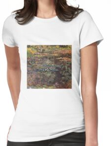 Claude Monet - Water Lilies 7 Womens Fitted T-Shirt