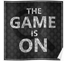 """Sherlock - """"The Game is On"""" Poster"""