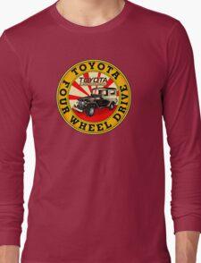 Toyota Land Cruiser Long Sleeve T-Shirt