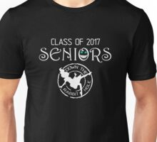 Seniors 2017. Down the Rabbit Hole. Unisex T-Shirt