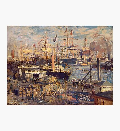 Claude Monet - The Grand Dock At Le Havre 1872 Photographic Print