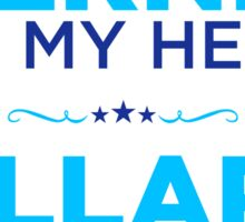 Bernie Has My Heart, Hillary Has My Vote Sticker