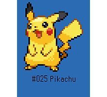 Pokedex: Pikachu (#025) Photographic Print