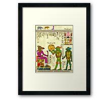 Papyrus TMNT Framed Print