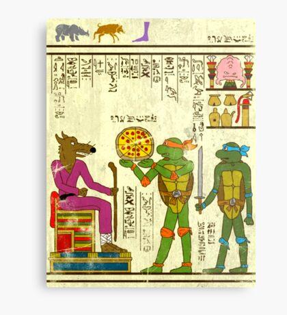 Papyrus TMNT Metal Print