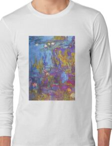 Claude Monet - Water Lilies 1917 Long Sleeve T-Shirt